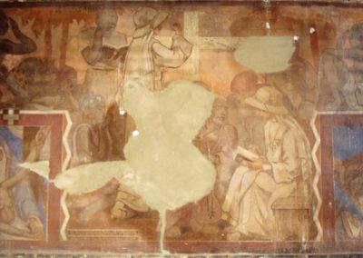 CHAPELLE DE ARRAS   Au nom du Père pendant restauration