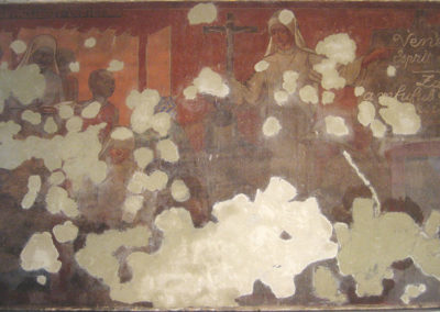 CHAPELLE DE ARRAS | Venez Esprit Saint pendant restauration