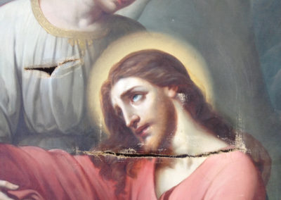 Le Christ avant restauration